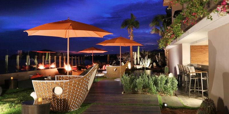 Miramar Bar à Grand Velas Los Cabos