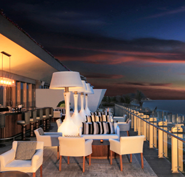 Sky Bar à Grand Velas Los Cabos