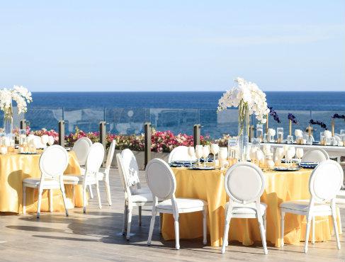 Hôtel avec Terrasse face à la Mer pour Noces à Los Cabos
