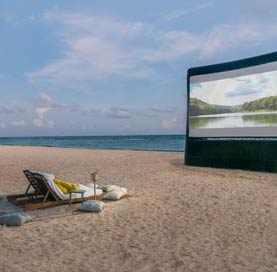 Movie Under The Stars Offer at Mexico Resort