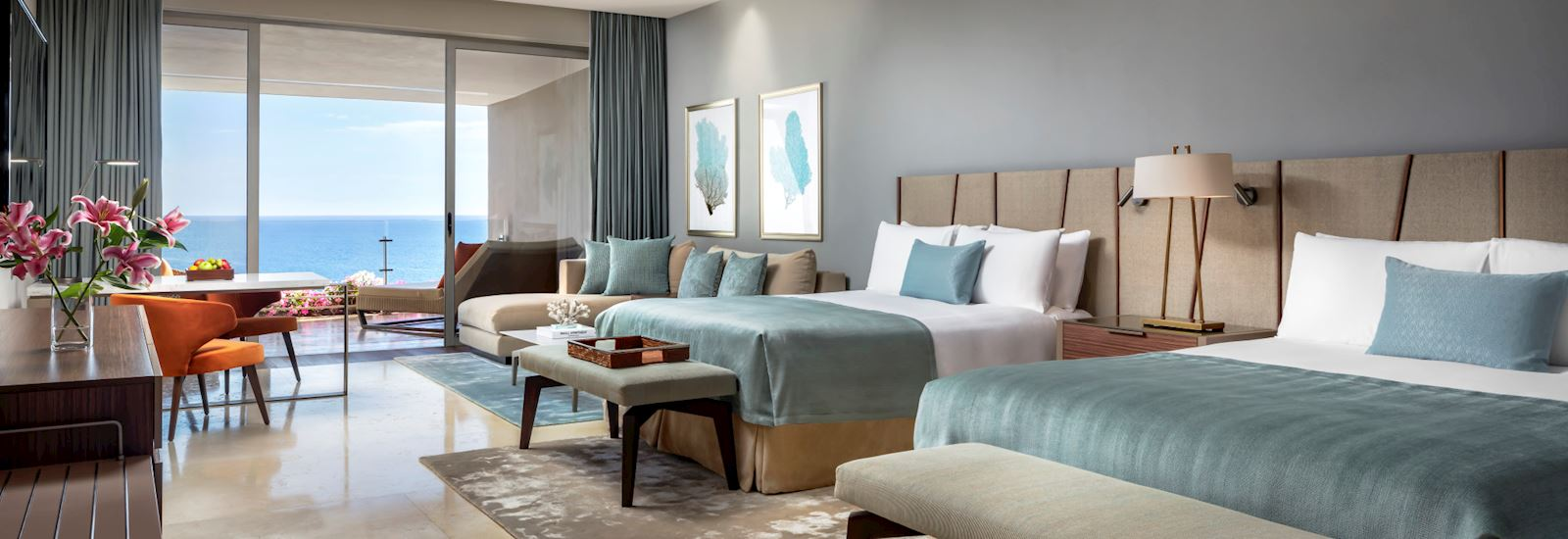 Grand Velas Los Cabos offering Two-Bedroom Family Suite