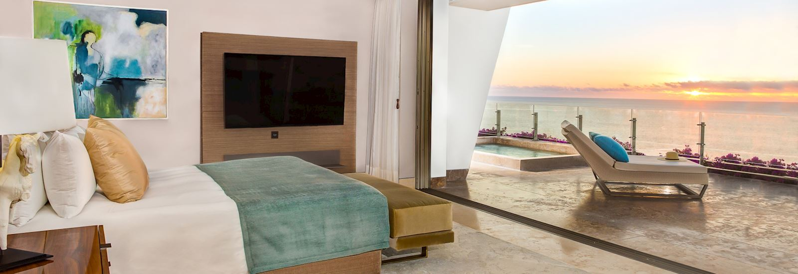 Presidential Suite Ocean Front View in Grand Velas Los Cabos