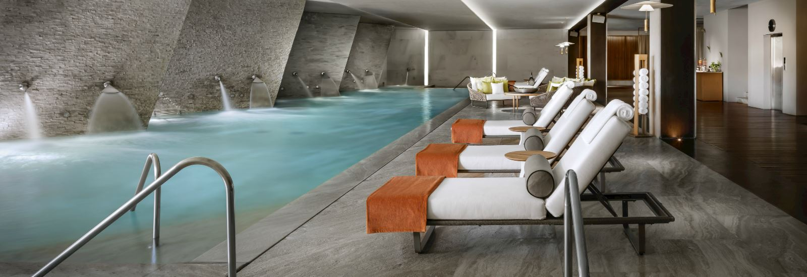 Indoor Pool with Spa at Grand Velas Los Cabos